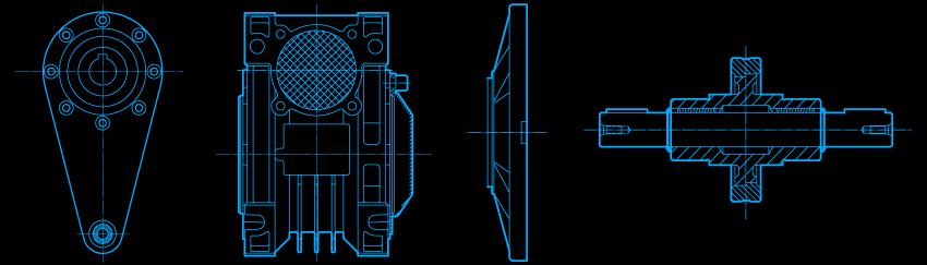 Accesorios para reductores y motoreductores Tausend